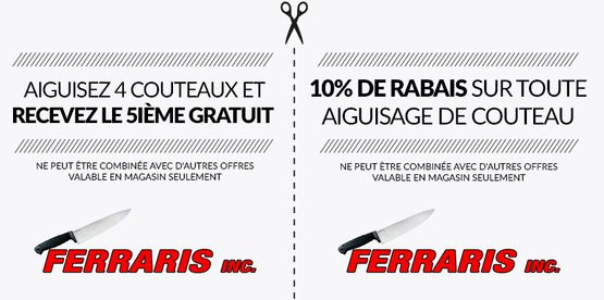 Ferraris inc. coupons